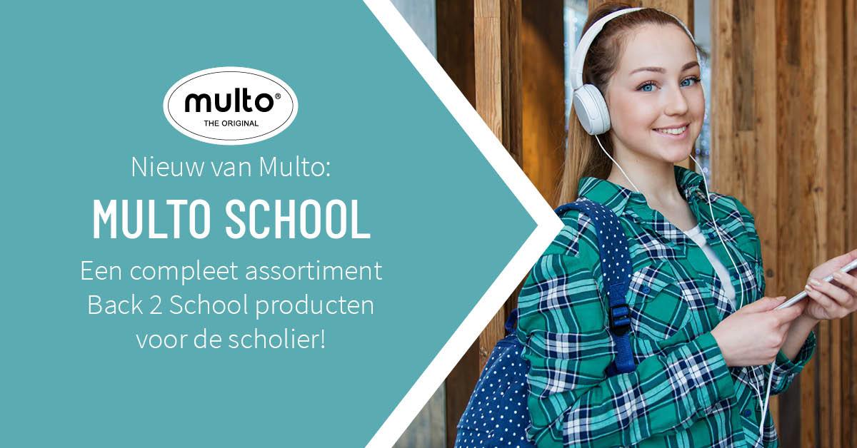 Een hip strependesign voor Multo School!