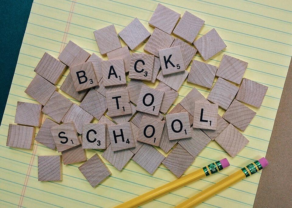 De vakantie zit er bijna op; weer terug naar school!