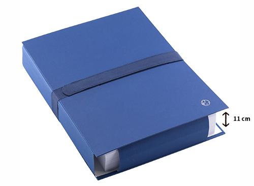 Tous les documents réunis dans un seul dossier de rangement extensible.