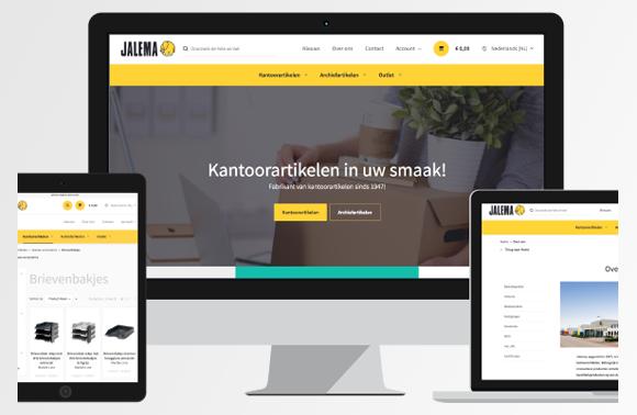 Nieuwe Website voor Jalema!