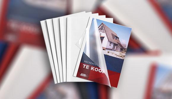 Creëer de meest elegante professionele documenten met de Jalema Thermo covers.