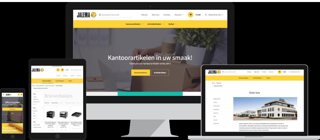Nieuwe website Jalema